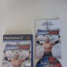 Videojuegos y Consolas: SMACKDOWN VS. RAW 2007 - PLAY STATION 2 (PS2). Lote 52300219