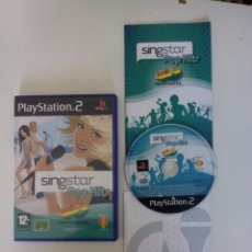 Videojuegos y Consolas: SINGSTAR POP HITS 40 PRINCIPALES - PLAY STATION 2 (PS2). Lote 110095587