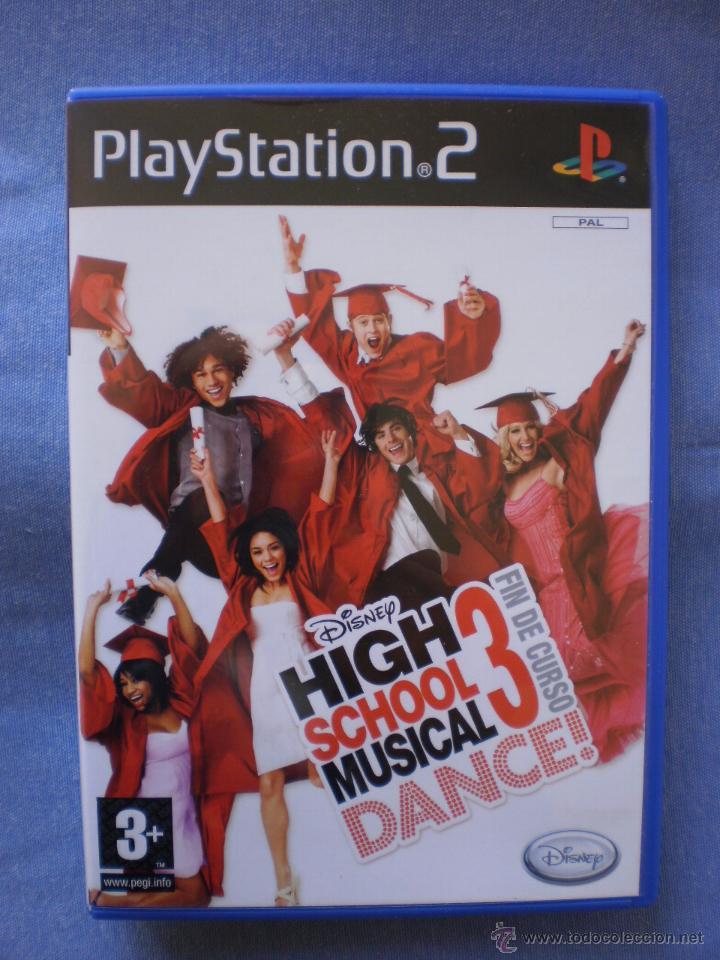 HIGH SCHOOL MUSICAL 3: FIN DE CURSO - PS2 (Juguetes - Videojuegos y Consolas - Sony - PS2)