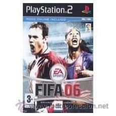 Videojuegos y Consolas: FIFA 06 PS2. Lote 52574940