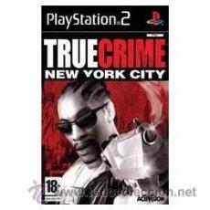 Videojuegos y Consolas: TRUE CRIME NEW YORK CITY PS2. Lote 52575002