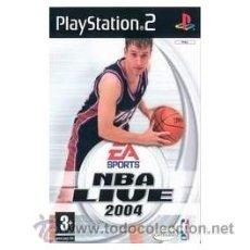 Videojuegos y Consolas: NBA LIVE 2004 PS2. Lote 52575028