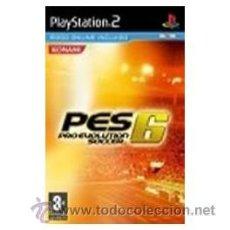 Videojuegos y Consolas: PRO EVOLUTION SOCCER 6 PS2. Lote 52575115