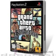 Videojuegos y Consolas: GRAND THEFT AUTO SAN ANDREAS PS2. Lote 112955430