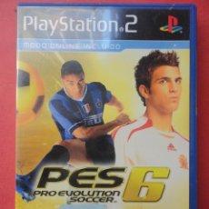 Videojuegos y Consolas: PRO EVOLUTION SOCCER 6. PLAYSTATION 2. JUEGO E INSTRUCCIONES. Lote 52627156