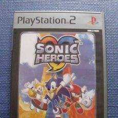 Videojuegos y Consolas: JUEGO SONIC HEROES - PLAYSTATION 2 (PS2). Lote 52746312