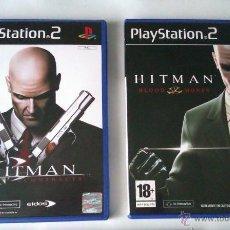 Videojuegos y Consolas: GRAN LOTE PACK DE 2 JUEGOS PARA PLAYSTATION 2 DE LA FAMOSA SAGA HITMAN EL ASESINO. Lote 43916211