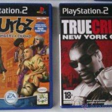 Videojuegos y Consolas: GRAN LOTE PACK DE 2 JUEGOS PARA PLAYSTATION 2 LOS URBZ SIMS EN LA CIUDAD Y TRUE CRIME NEW YORK CITY. Lote 52812538