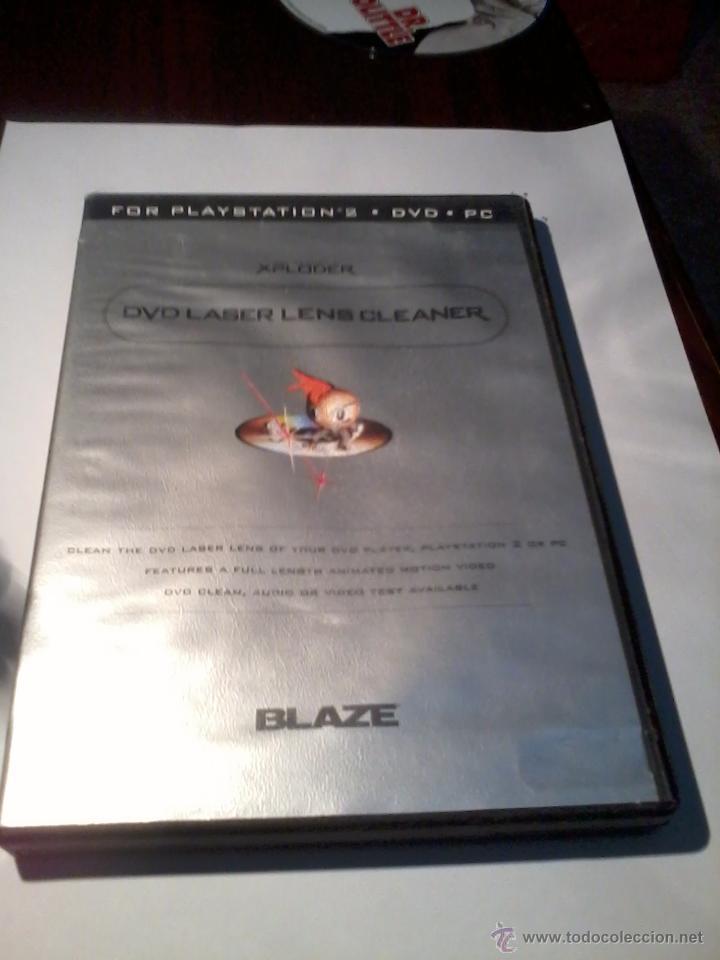 FOR PLAYSTATION 2. DVD. PC. LASER LENS CLANER. CON MANUAL. (Juguetes - Videojuegos y Consolas - Sony - PS2)