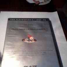 Videojuegos y Consolas: FOR PLAYSTATION 2. DVD. PC. LASER LENS CLANER. CON MANUAL.. Lote 52874135