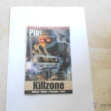 Videojuegos y Consolas: GUIA PLAY2 KILLZONE PS2 PLAYSTATION 2. Lote 52924901