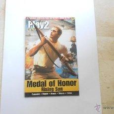 Videojuegos y Consolas: GUIA PLAY MANIA PS2 PLAYSTATION MEDAL OF HONOR RISING SUN. Lote 52965654