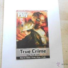 Videojuegos y Consolas: GUIA PLAY MANIA PS2 PLAYSTATION TRUE CRIME NEW YORK CITY. Lote 52965711