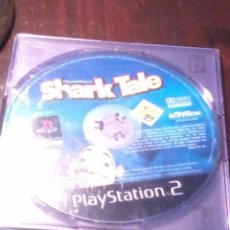Videojuegos y Consolas: PLAYSTATION 2. SHARK TALE COMO APARECE EN LA FOTO SOLAMENTE EL DISCO.. Lote 53176115