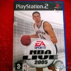 Videojuegos y Consolas: EA SPORT NBA LIVE 2005 PS2. Lote 53177832