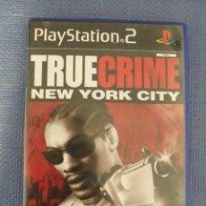 Videojuegos y Consolas: JUEGO TRUE CRIME. NEW YORK CITY - PLAYSTATION 2 (PS2). Lote 53192658