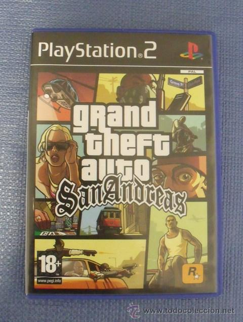 Juego Gta San Andreas Grand Theft Auto Play Comprar