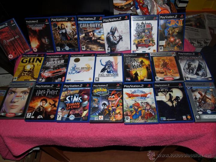 Pack De 21 Juegos Para Playstation 2 Ps2 De Los Comprar