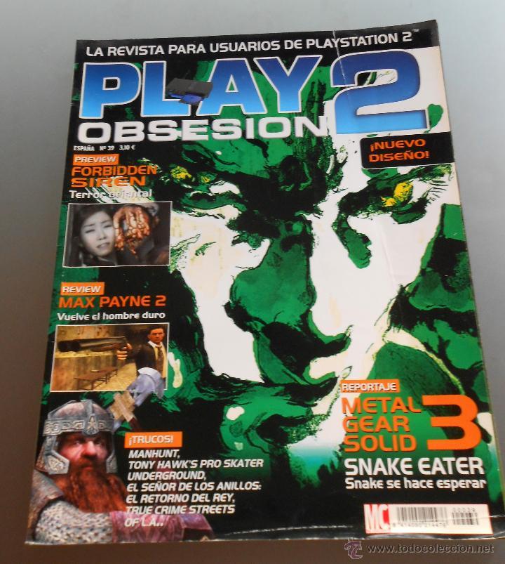 REVISTA PARA USUARIOS DE PLAYSTATION2 (Juguetes - Videojuegos y Consolas - Sony - PS2)