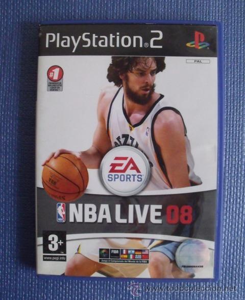 JUEGO BALONCESTO NBA LIVE 08 - PLAYSTATION 2 (PS2) (Juguetes - Videojuegos y Consolas - Sony - PS2)