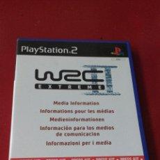 Videojuegos y Consolas: WRC II EXTREME WORLD RALLY CHAMPIONSHIP PRESS KIT MEDIA INFORMATION PS2 PLAYSTATION 2. Lote 54589784
