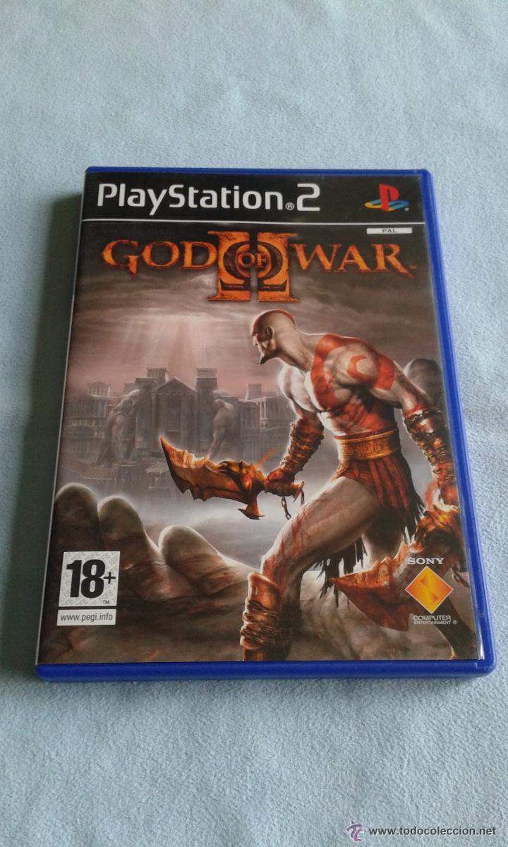 GOD OF WAR 2 PAL ESPAÑOL (Juguetes - Videojuegos y Consolas - Sony - PS2)