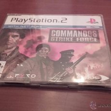 Videojuegos y Consolas: COMMANDOS STRIKE FORCE VERSIÓN PROMOCIONAL PLAYSTATION 2 PS2 SONY. Lote 54772132