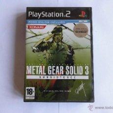 Videojuegos y Consolas: METAL GEAR SOLID 3 SUBSISTENCE. PLAYSTATION 2. Lote 55049415