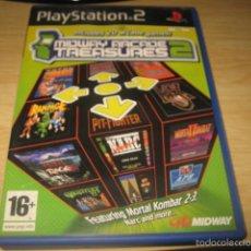 Videojuegos y Consolas: MIDWAY ARCADE TREAUSURES 2 PS2 PAL ESPAÑA XYBOTS NARC RAMPAGE MORTAL KOMBAT GAUNTLET. Lote 55348529