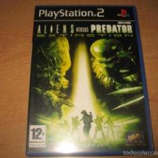 Videojuegos y Consolas: ALIENS VERSUS PREDATOR EXTINCTION PS2 PAL ESPAÑA COMPLETO - ELECTRONIC ARTS. Lote 55936563