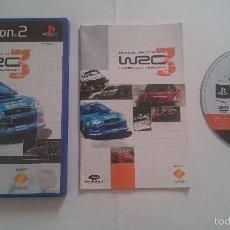 Videojuegos y Consolas: WRC III WORLD RALLY COMPLETO PLAYSTATION 2 PS2. PAL VERSION UK.. Lote 56013368