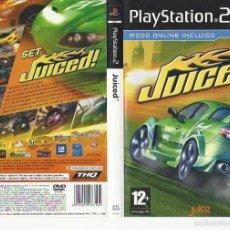 Videojuegos y Consolas: JUICED PS2 - CARATULA. Lote 56038842
