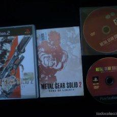 Videojuegos y Consolas: PLAYSTATION 2: METAL GEAR SOLID 2. Lote 56206684