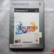 Videojuegos y Consolas: FINAL FANTASY X / PS2 / RPG. Lote 56311947