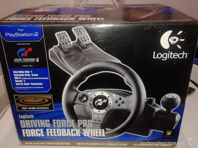 8bc9727157f Videojuegos y Consolas: Volante Logitech Driving Force Pro (Ps2)(Ps3)(