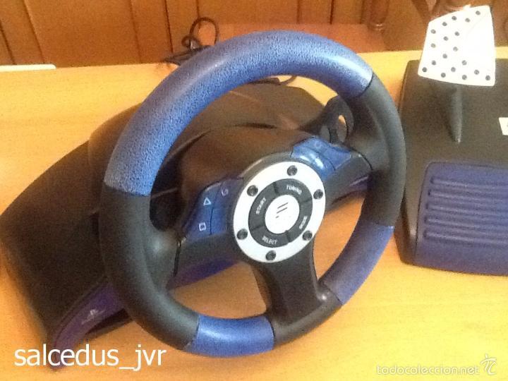 Videojuegos y Consolas: Volante Speedster 3 Edición Fernando Alonso Oficial Sony Playstation 1 PS1 Play Station 2 PS2 - Foto 5 - 56706014