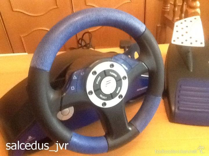 Videojuegos y Consolas: Volante Speedster 3 Edición Fernando Alonso Oficial Sony Playstation 1 PS1 Play Station 2 PS2 - Foto 6 - 56706014