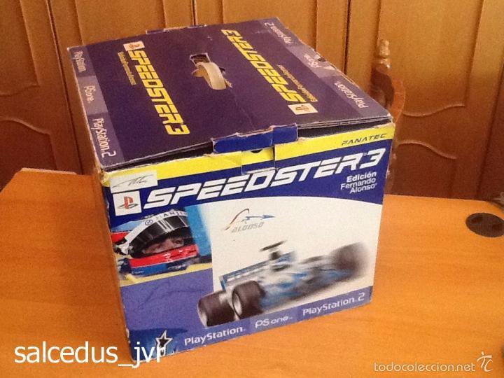 Videojuegos y Consolas: Volante Speedster 3 Edición Fernando Alonso Oficial Sony Playstation 1 PS1 Play Station 2 PS2 - Foto 8 - 56706014