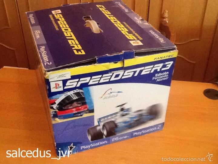 Videojuegos y Consolas: Volante Speedster 3 Edición Fernando Alonso Oficial Sony Playstation 1 PS1 Play Station 2 PS2 - Foto 9 - 56706014