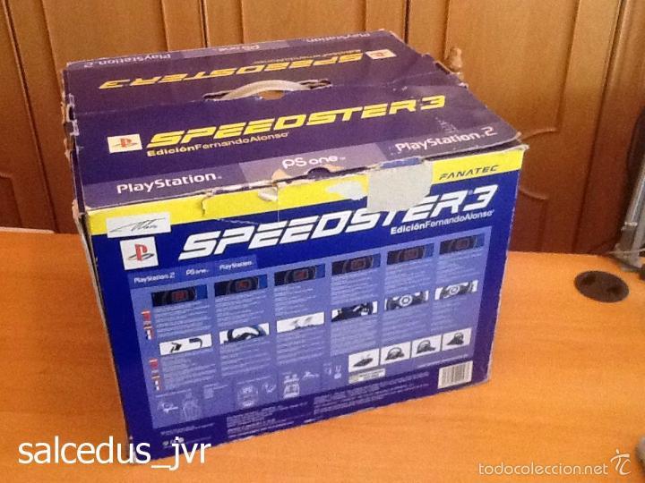 Videojuegos y Consolas: Volante Speedster 3 Edición Fernando Alonso Oficial Sony Playstation 1 PS1 Play Station 2 PS2 - Foto 10 - 56706014