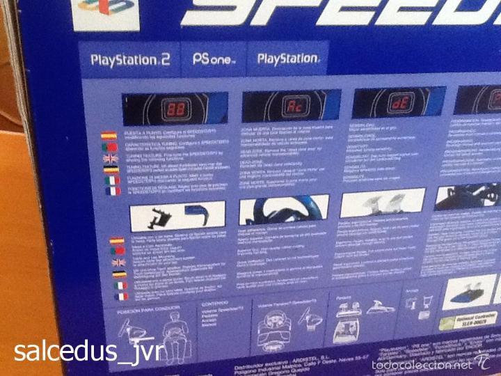 Videojuegos y Consolas: Volante Speedster 3 Edición Fernando Alonso Oficial Sony Playstation 1 PS1 Play Station 2 PS2 - Foto 11 - 56706014