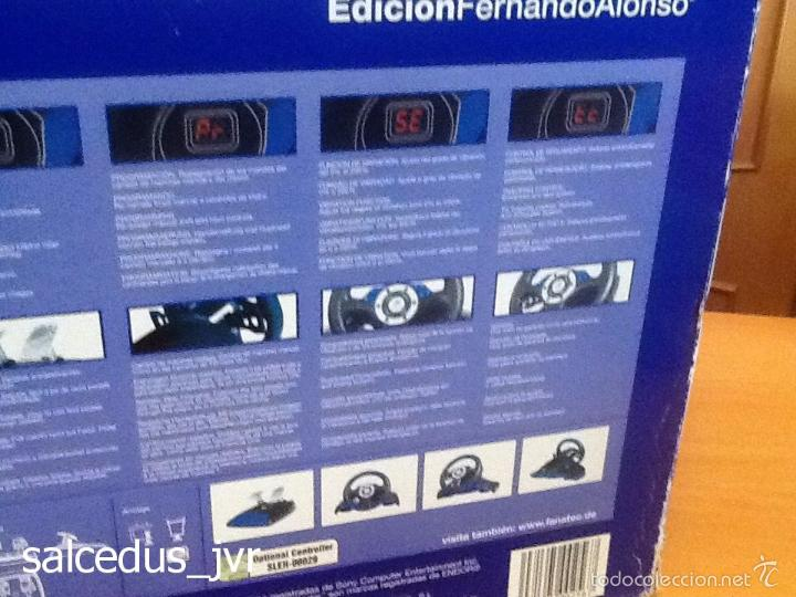 Videojuegos y Consolas: Volante Speedster 3 Edición Fernando Alonso Oficial Sony Playstation 1 PS1 Play Station 2 PS2 - Foto 13 - 56706014