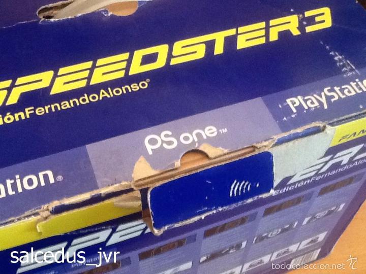 Videojuegos y Consolas: Volante Speedster 3 Edición Fernando Alonso Oficial Sony Playstation 1 PS1 Play Station 2 PS2 - Foto 14 - 56706014