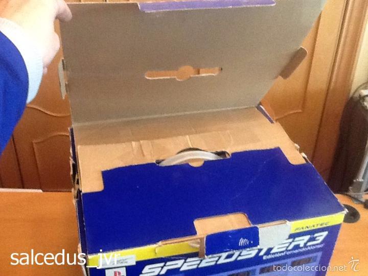 Videojuegos y Consolas: Volante Speedster 3 Edición Fernando Alonso Oficial Sony Playstation 1 PS1 Play Station 2 PS2 - Foto 15 - 56706014