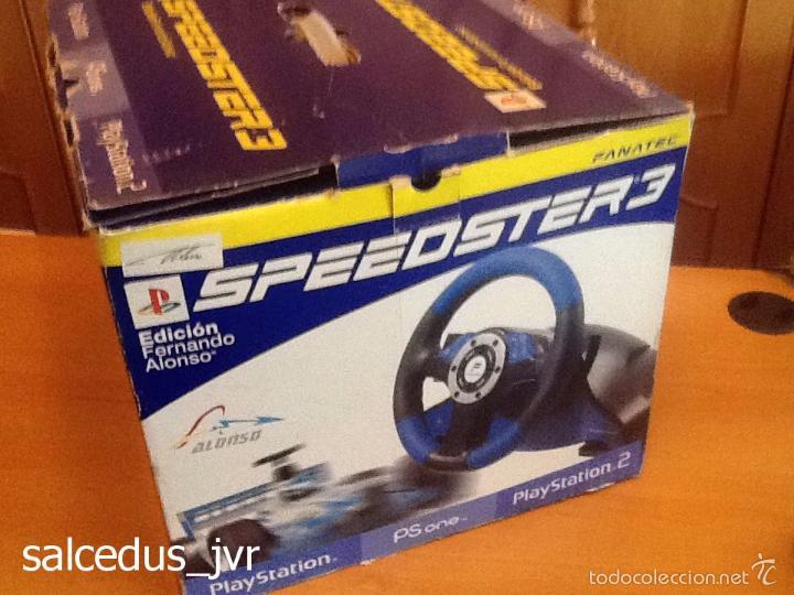 Videojuegos y Consolas: Volante Speedster 3 Edición Fernando Alonso Oficial Sony Playstation 1 PS1 Play Station 2 PS2 - Foto 16 - 56706014
