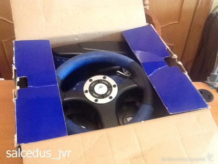 Videojuegos y Consolas: Volante Speedster 3 Edición Fernando Alonso Oficial Sony Playstation 1 PS1 Play Station 2 PS2 - Foto 20 - 56706014