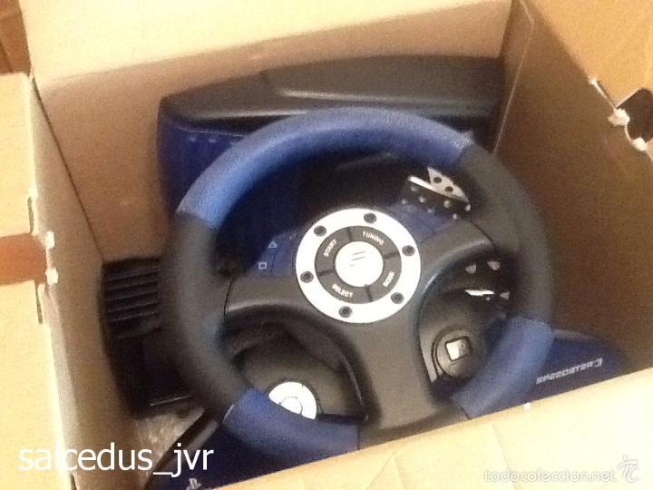 Videojuegos y Consolas: Volante Speedster 3 Edición Fernando Alonso Oficial Sony Playstation 1 PS1 Play Station 2 PS2 - Foto 21 - 56706014