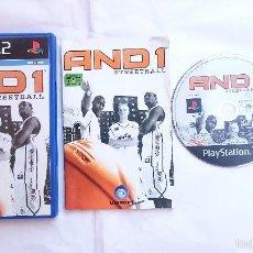 Videojuegos y Consolas: JUEGO COMPLETO AND1 STREETBALL PLAYSTATION 2 PS2 PAL ESPAÑA. BUEN ESTADO.. Lote 56931109