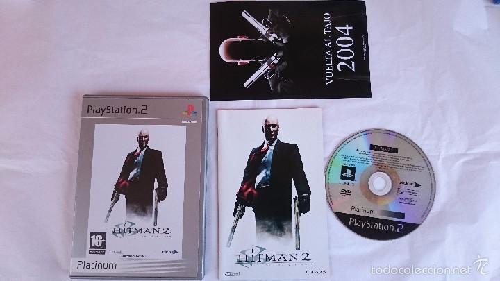 JUEGO HITMAN 2 SILENT ASSASSIN PLAYSTATION 2 PS2 PAL ESPAÑA.BUEN ESTADO (Juguetes - Videojuegos y Consolas - Sony - PS2)