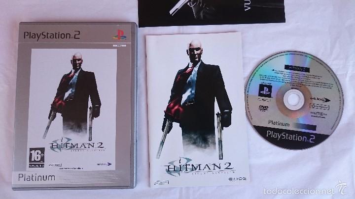 Videojuegos y Consolas: JUEGO HITMAN 2 SILENT ASSASSIN PLAYSTATION 2 PS2 PAL ESPAÑA.BUEN ESTADO - Foto 2 - 56935559